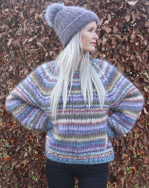 Anine sweater strikkekit