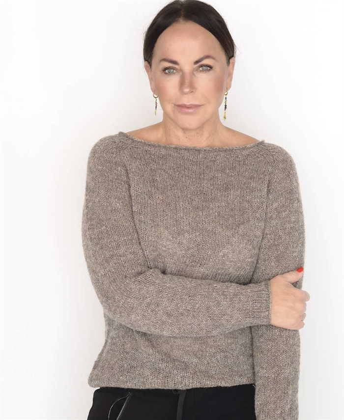 Image of   Basic sweater-strikkeopskrift