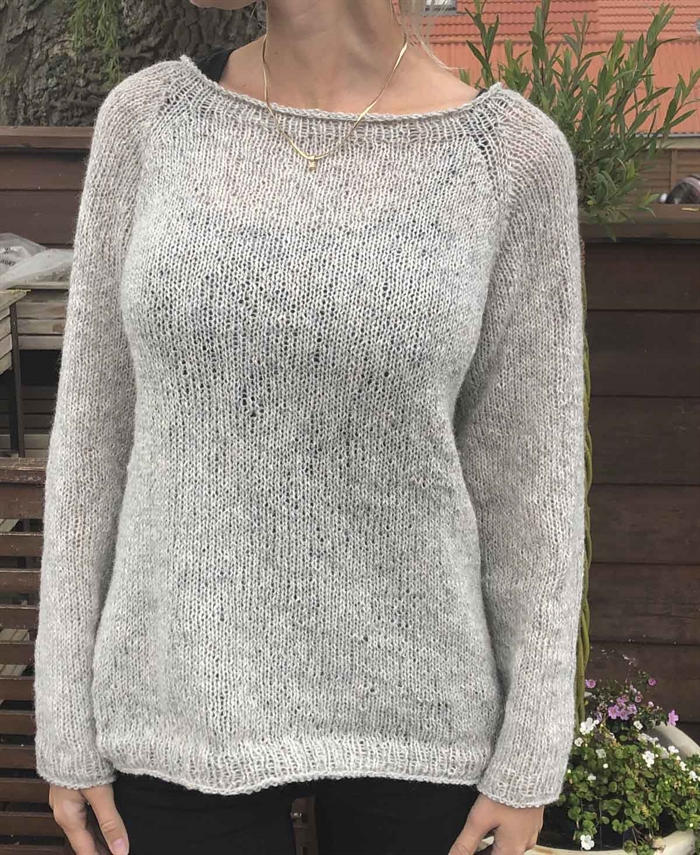 Basic sweater-strikkekit