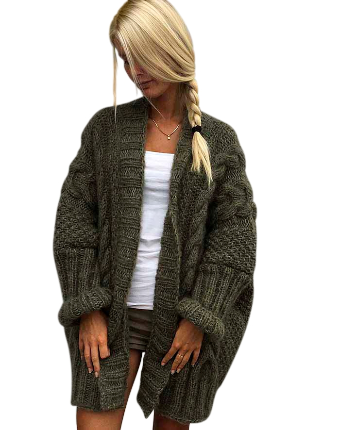 Image of   Flagermus cardigan strikkekit