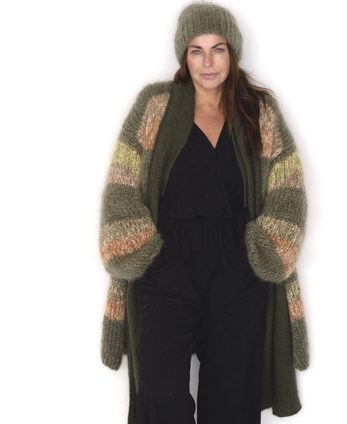 Frozen mohair cardigan one-size