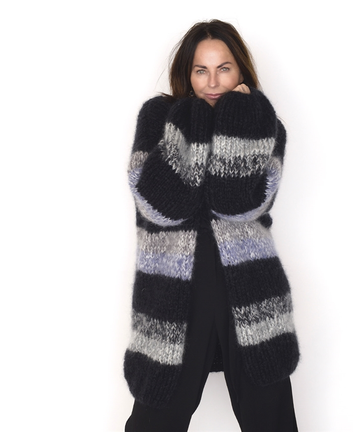 Image of   Frozen cardigan one-size håndstrikket
