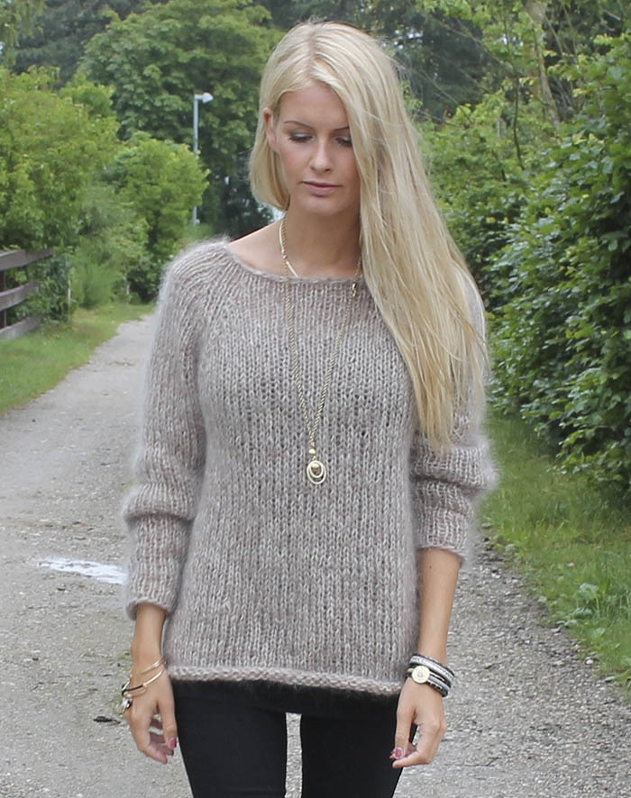 Image of   Kidmohair sweater S/M