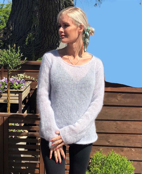Spindelvæv sweater strikkekit