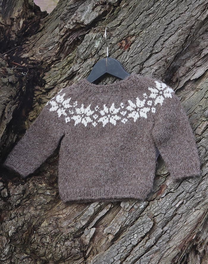 Image of   Stjerne sweater baby