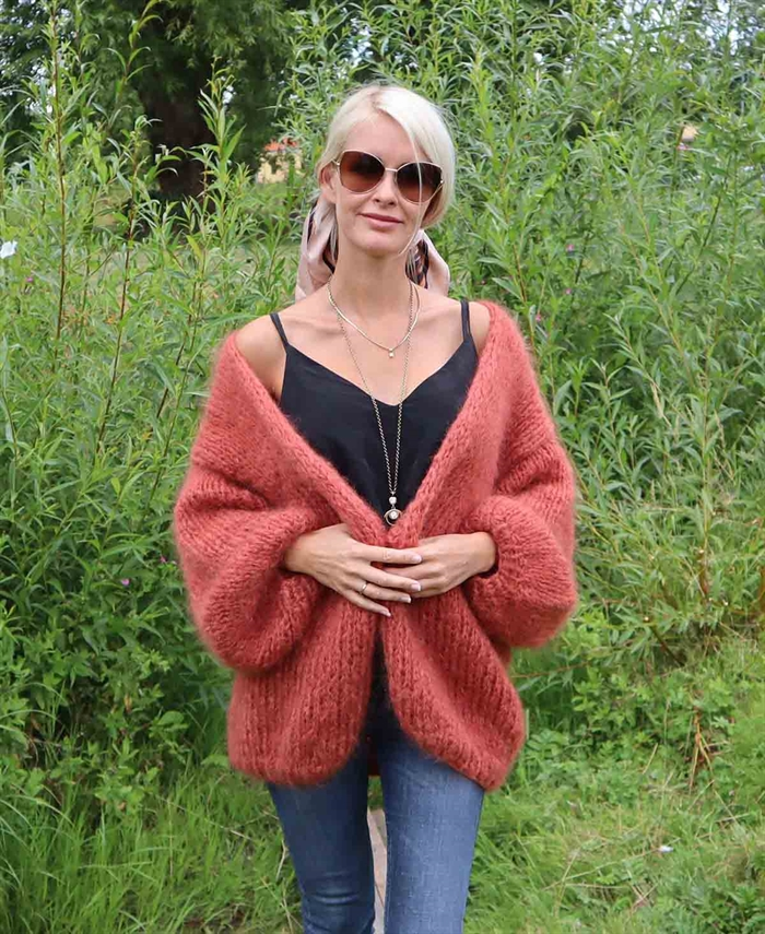 Mohair cardigan - One-size