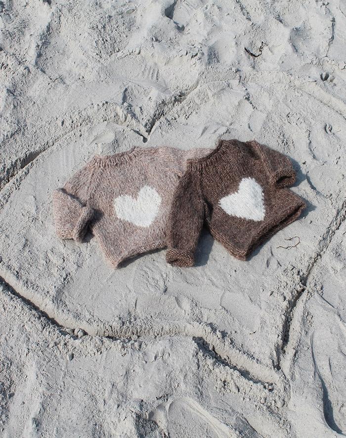 Image of   Lille hjerte bluse - opskrift