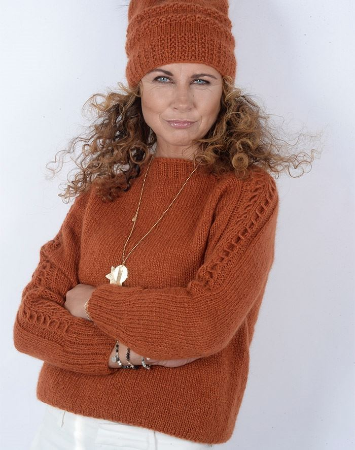 Image of   Karina sweater strikkekit