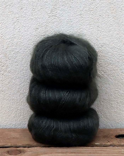 Wadils silkemohair - oliven