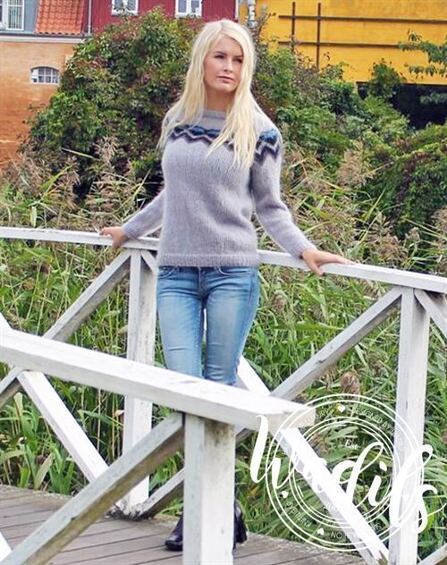 pernille sweater strikkekit