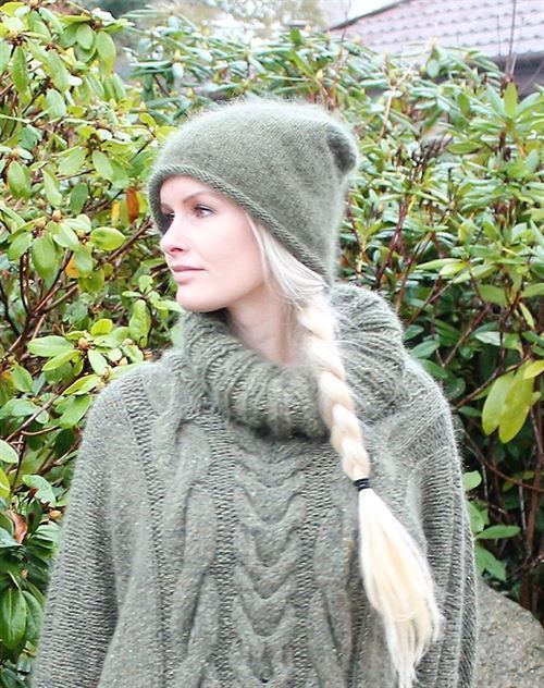 hue i silke og kidmohair by Mother of two