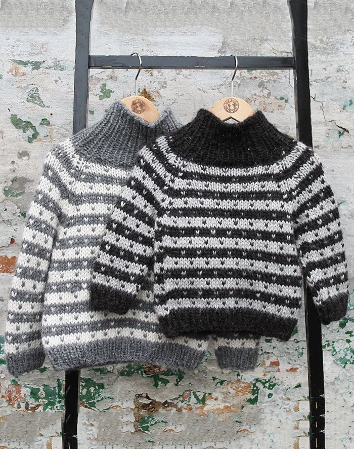 Børn sweater alpaca uld by Mother of two