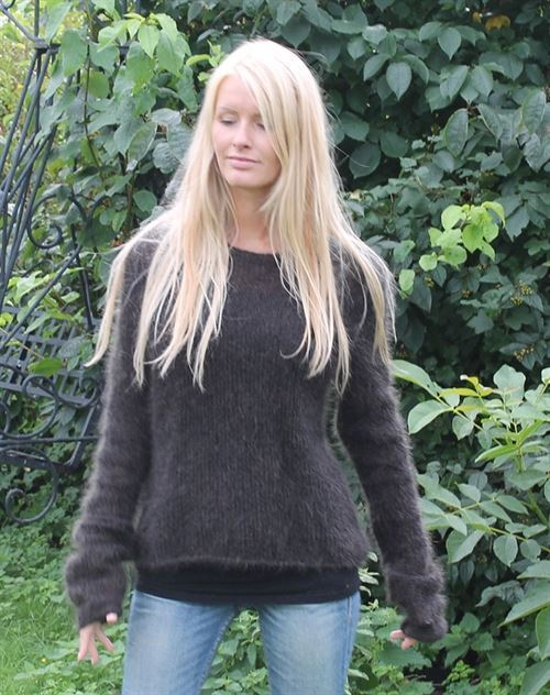 Grævling sweater strikkekit