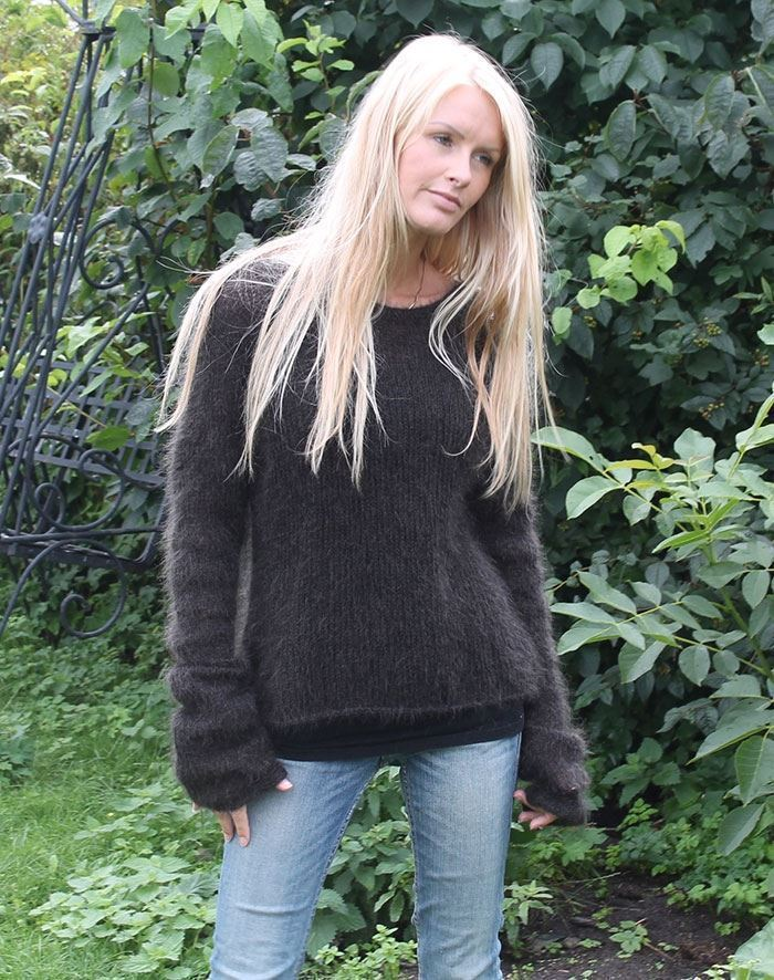 Image of   Grævling sweater strikkekit