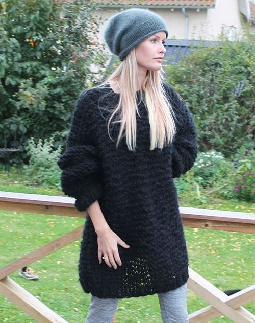Hulebjørn Strik vinter sweater by Mother of two