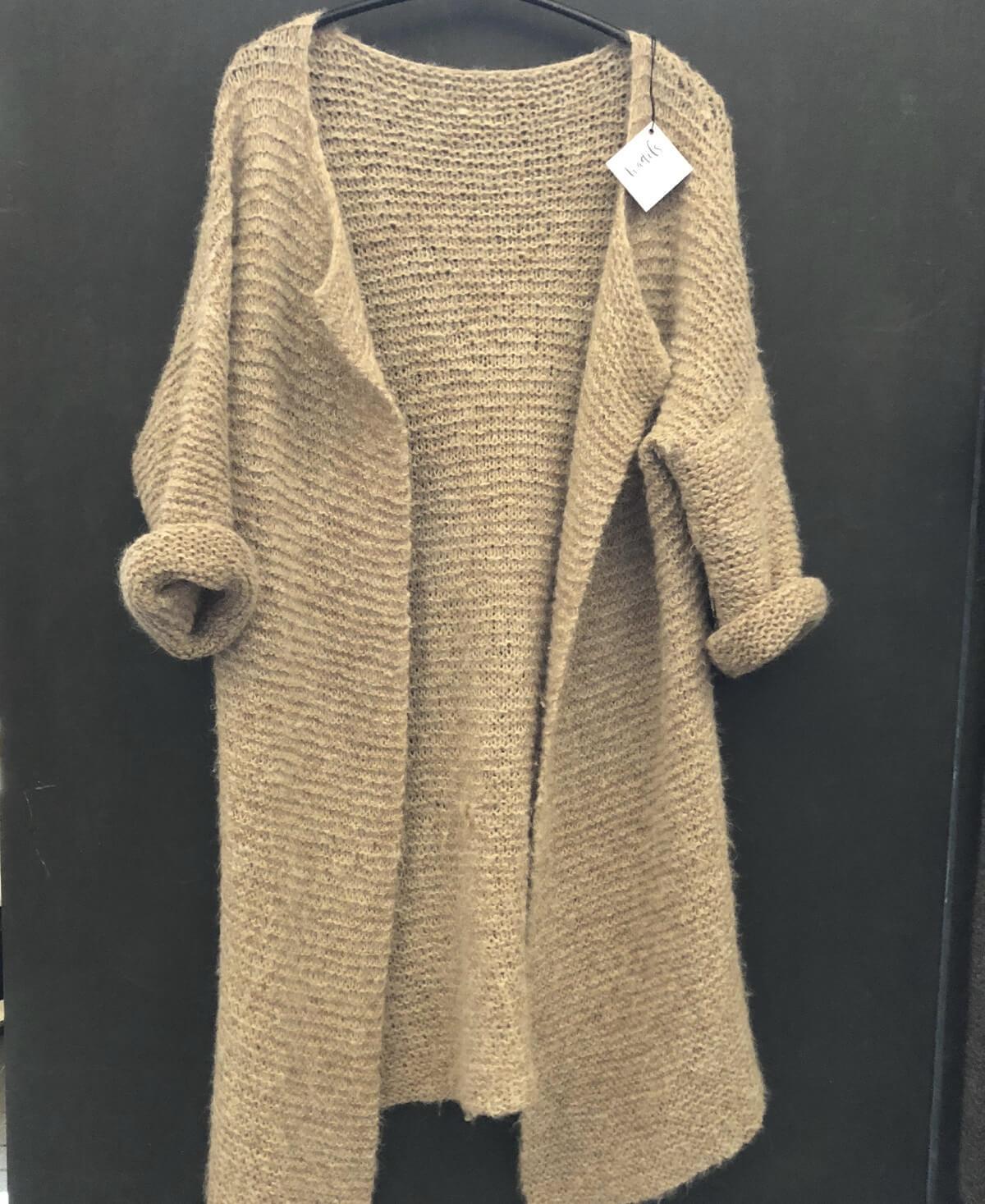 Rille jakke strikkekit