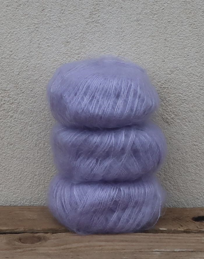 Image of   Wadils silkemohair - syren