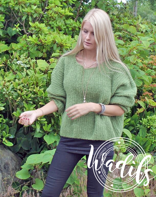 Waterfall sweater strikkekit